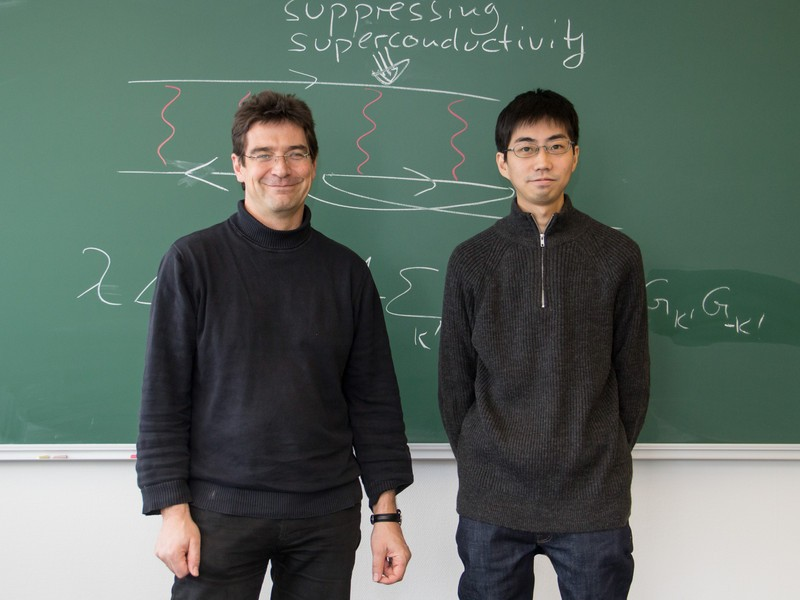 Karsten Held (l.) and Motoharu Kitatani