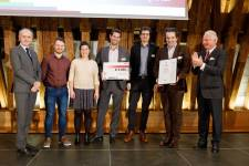 Soniccatch gewinnt den Mercur '18 Preis in der Kategorie Start-up Star Vienna